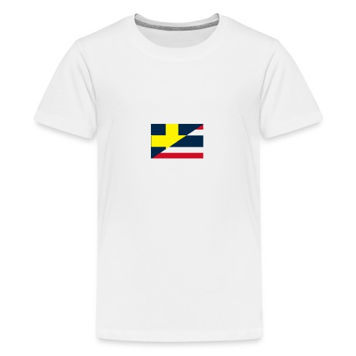 thailands flagga dddd png - Teenage Premium T-Shirt