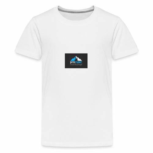 08 pro rider logo - Premium-T-shirt tonåring