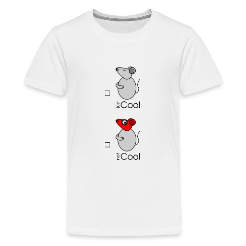 Conseil - « just / not Cool » - c - T-shirt Premium Ado