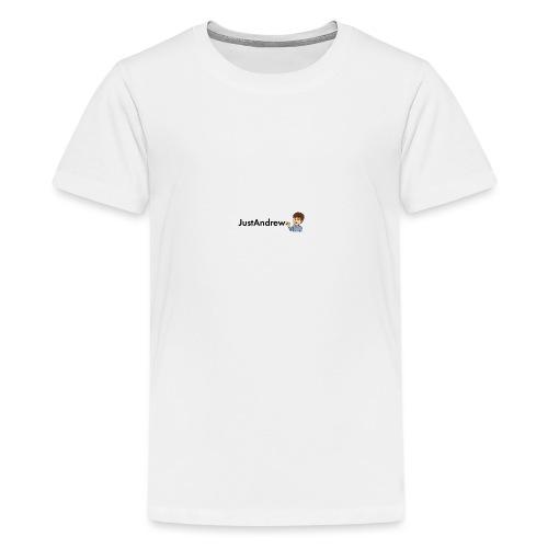 Classic JustAndrew - Teenage Premium T-Shirt