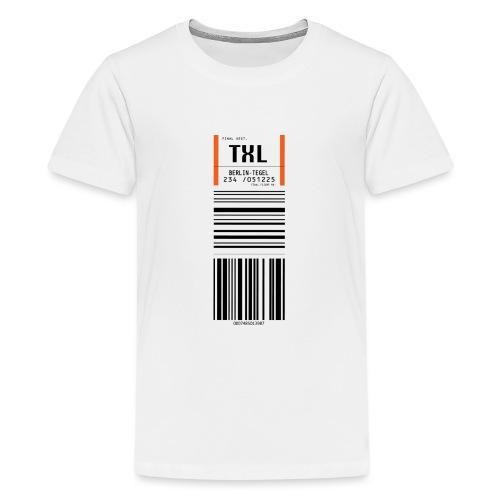 Berlin-Tegel TXL - Teenager Premium T-Shirt