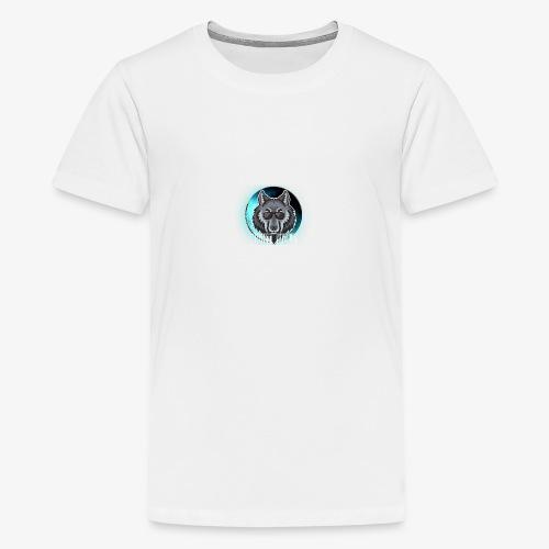 Wolf - Camiseta premium adolescente