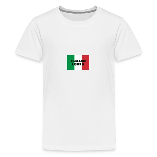 ITALIAN LOVER - Maglietta Premium per ragazzi