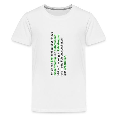 hattrickshirtekel - Teenager Premium T-Shirt