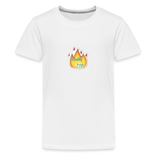 Gabby710 Flame Merch - Teenage Premium T-Shirt