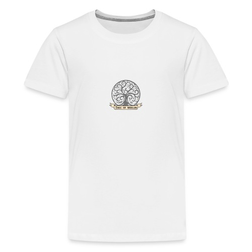 TOS grey tiny 3in png - Teenage Premium T-Shirt