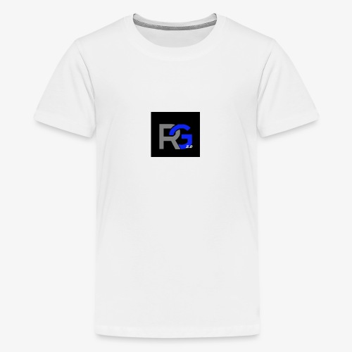 T-shirt Rickygaming2.0 - Teenager Premium T-shirt