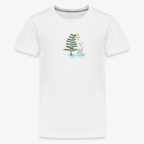 3bonhommesdeneige - Teenage Premium T-Shirt