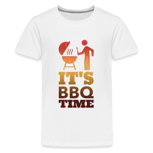 It's BBQ Time - Teenager Premium T-shirt