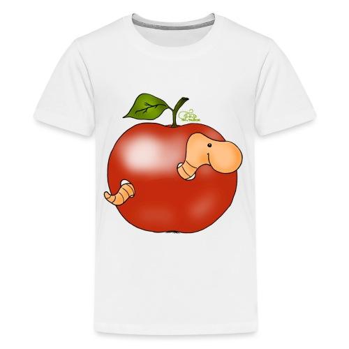 Apfelwurm im Royal Tenroy - Teenager Premium T-Shirt