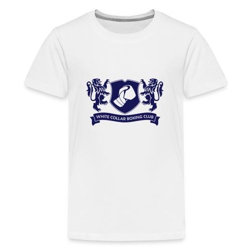 White Collar Boxing Sportsbag - Teenager Premium T-Shirt