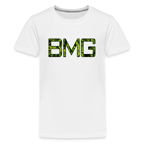 BMGBIGLOGO png - Teenage Premium T-Shirt