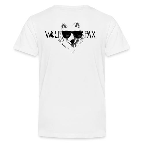Wolf Pax png - Teenage Premium T-Shirt