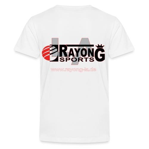 rayong-logo - Teenager Premium T-Shirt