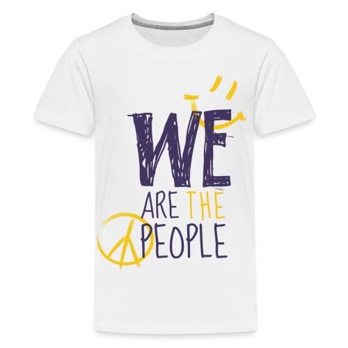 weare purple new png - Teenager Premium T-Shirt