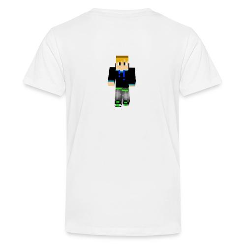 dominikplay 3D 2 png - Teenager Premium T-Shirt