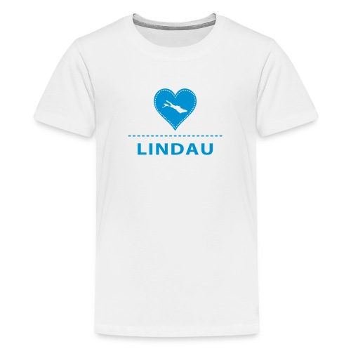 bodensee.love-local.de | Love City Lindau - Teenager Premium T-Shirt