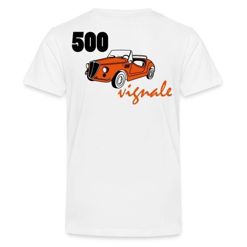 vignale couleur vectorise3 - T-shirt Premium Ado