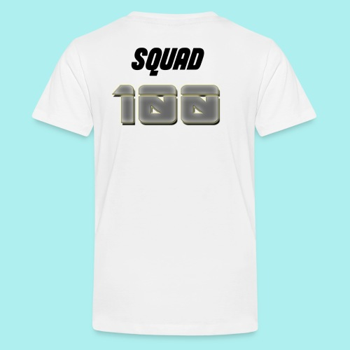 METTALIC 100 SUBSCRIBERS - Teenage Premium T-Shirt