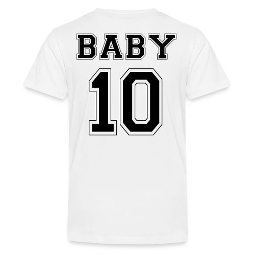 BABY 10 - Black Edition - Teenager Premium T-Shirt