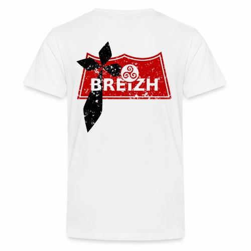 Breizh Usé - T-shirt Premium Ado