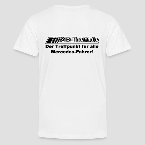 Treffpunkt flock optimiert - Teenager Premium T-Shirt