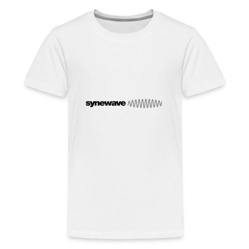 Synewave 2016 Ltd. Edition Black on Black Hoodie - Teenage Premium T-Shirt