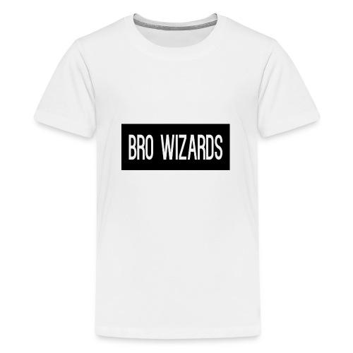 Browizardshoodie - Teenage Premium T-Shirt