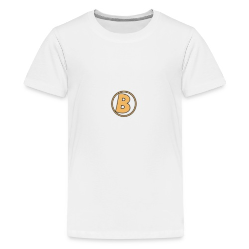 Galaxy Bear Golden Edition T-Shirt - Teenage Premium T-Shirt