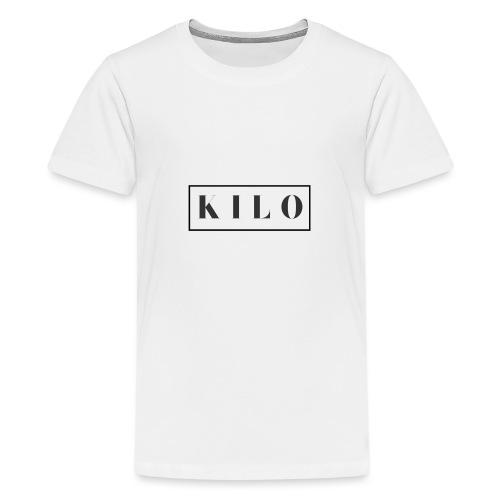 Mens K I L O - Teenage Premium T-Shirt