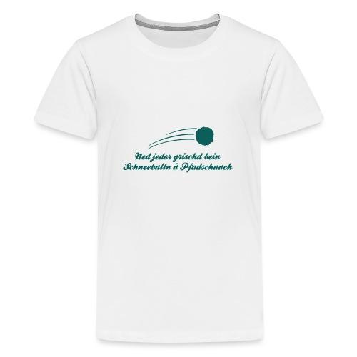 Pfadschaach - Teenager Premium T-Shirt