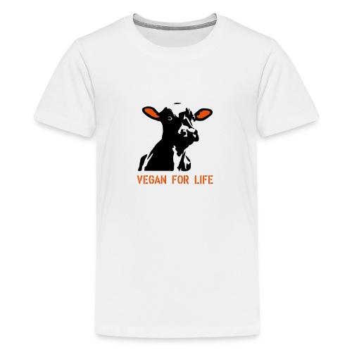 colorida vegan for life - Teenager Premium T-Shirt