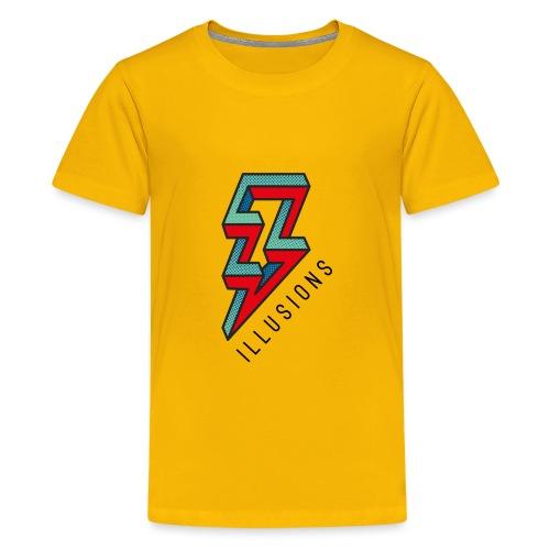 ♂ Lightning - Teenager Premium T-Shirt
