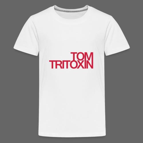 TOM TRITOXIN LONGSHIRT Black - Teenager Premium T-Shirt