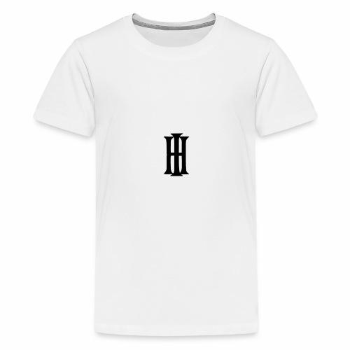 HI Design 1 gif - Teenager Premium T-Shirt