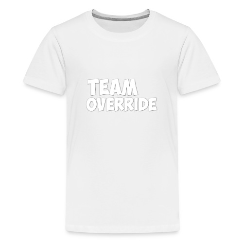 Team Override T-Shirt grey Youtube - Teenage Premium T-Shirt