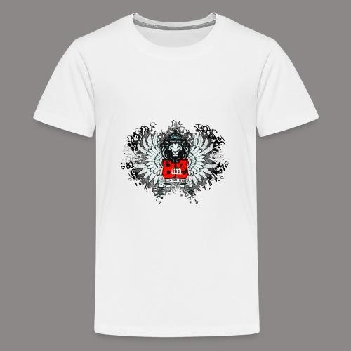 BUNZ LOGO - Teenage Premium T-Shirt