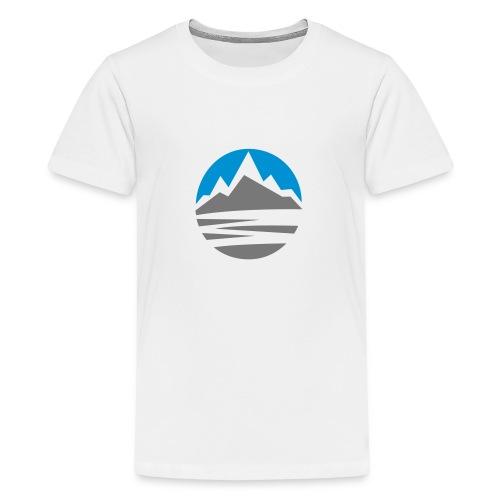 Mountain - Teenage Premium T-Shirt
