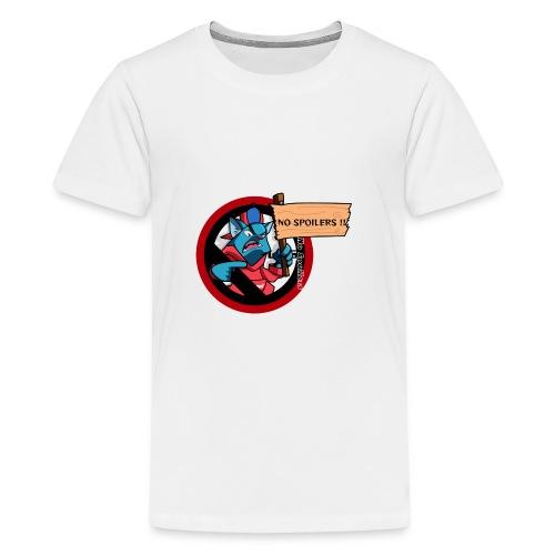 NO SPOILER CAT THUG - T-shirt Premium Ado