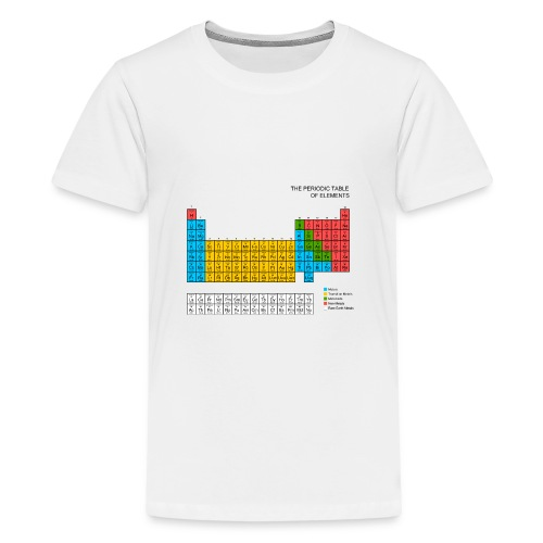 Periodic Table of elements - Teenage Premium T-Shirt