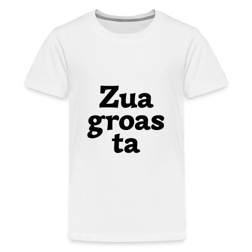 Zuagroasta - Teenager Premium T-Shirt