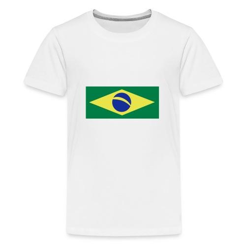 Braslien - Teenager Premium T-Shirt
