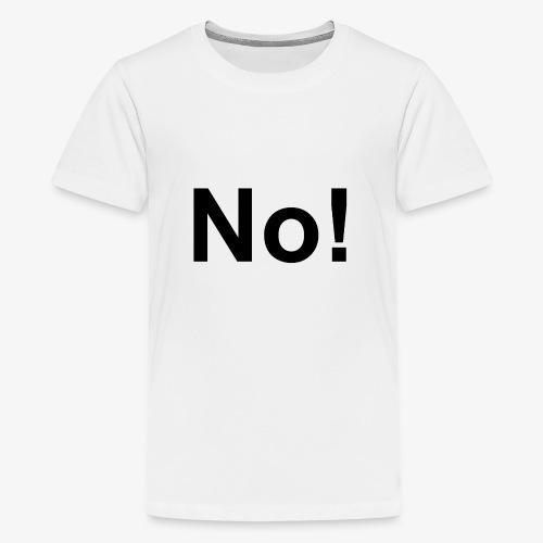 defgdgdfgdfg2 png - Teenage Premium T-Shirt