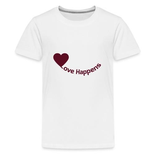 Love-Happens - Teenage Premium T-Shirt
