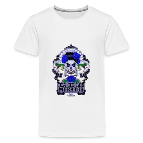 DIA DE LOS MUERTOS - Teinien premium t-paita