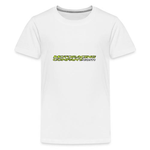 MRCLOGOilmantaustaanew png - Teinien premium t-paita