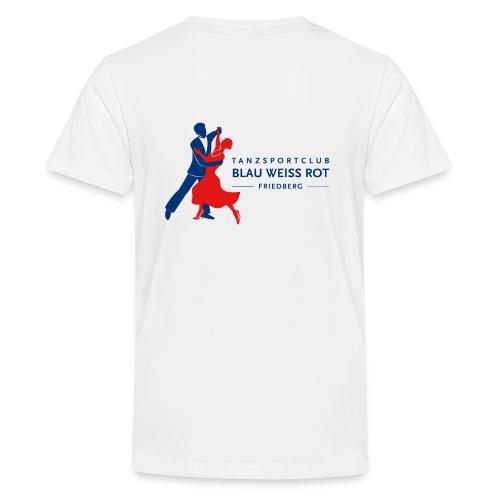 Logo_-png-blau - Teenager Premium T-Shirt