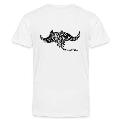 The giant manta - Teenage Premium T-Shirt