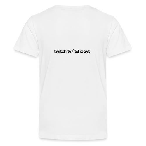 Fido - Twitch Link - Teenager premium T-shirt