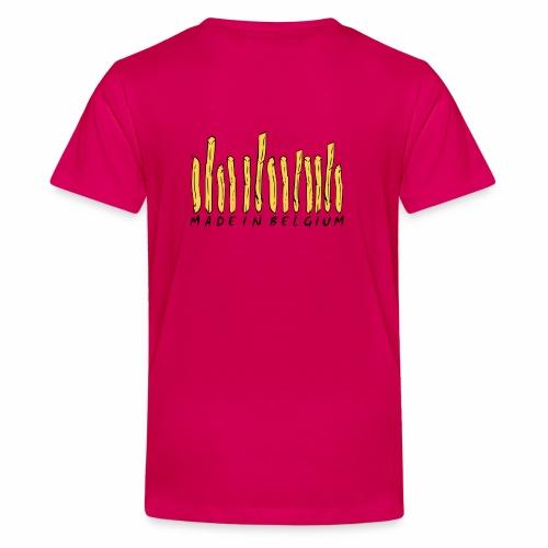 Made In Belgium Frites - T-shirt Premium Ado